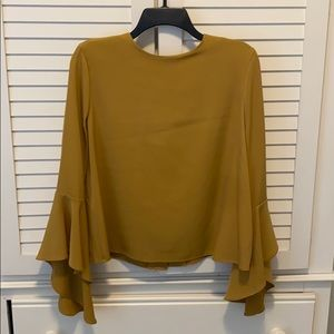 Mustard blouse size medium.